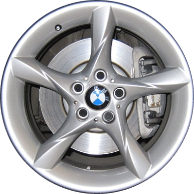 ALY71435 BMW Z4 Wheel Silver Painted #36116785255