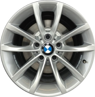 ALY86030 BMW Z4 Wheel Silver Painted #36116855527