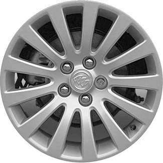 ALY4100 Buick Regal Wheel Silver Painted #9598127