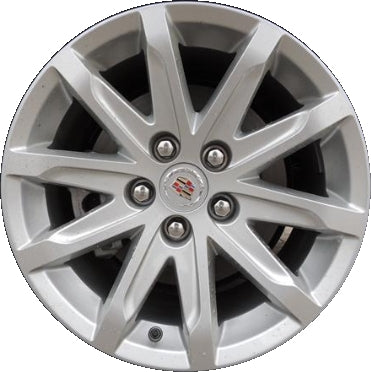ALY4713U20/4712 Cadillac CTS Wheel Silver Painted #20984815
