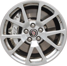 Load image into Gallery viewer, ALY4649 Cadillac CTS-V Sedan, Wagon Wheel Silver Painted #9598611