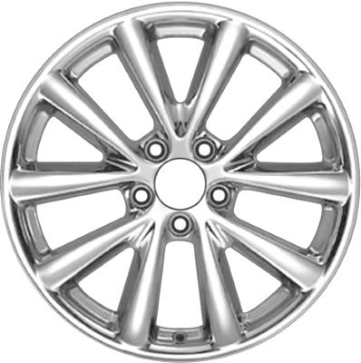 Used ALY4074 Buick Lucerne, Cadillac DTS Wheel Chrome #17800381