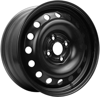 STL6624 Chevrolet Aveo Wheel Steel Black #96653134