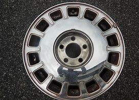Used ALY4524 Cadillac Deville, Concours Wheel Chrome #12365432