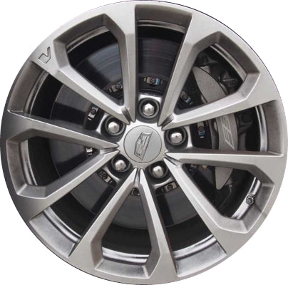 ALY4768U20/4769 Cadillac ATS-V Coupe Wheel Silver Painted #22945698