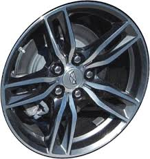 ALY4794 Cadillac CTS Wheel Charcoal Machined #23492304