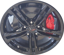 Load image into Gallery viewer, ALY5726 Chevrolet Corvette Wheel Black Painted #22959761
