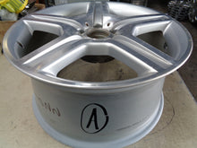 Load image into Gallery viewer, ALY85022 2008-11 MERCEDES S400 S450 S550 19X9.5 REAR MACHINIED SILVER #2214012702