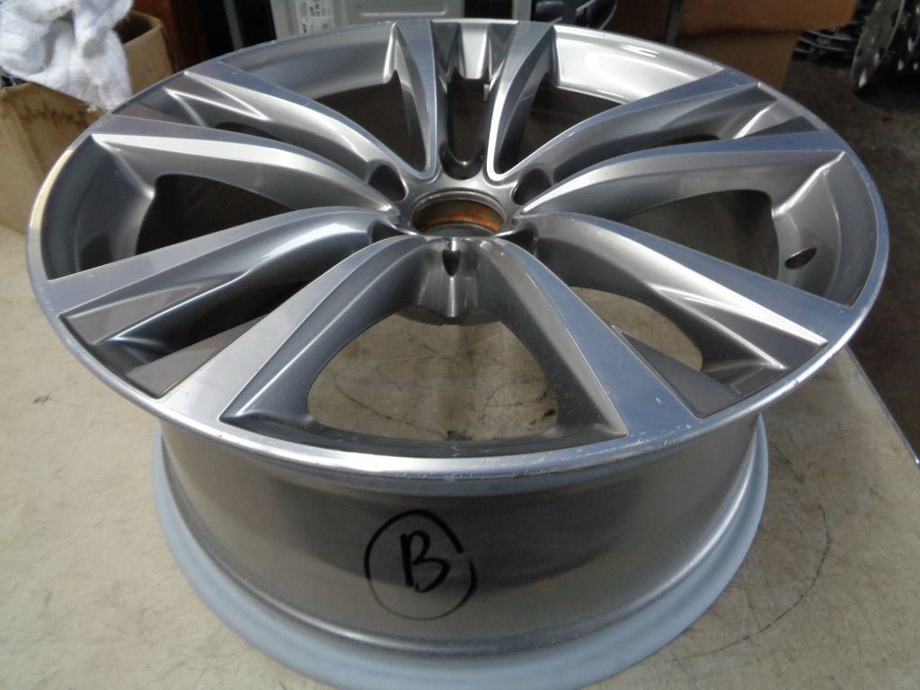ALY86224 BMW 528i, 535i, 550i Wheel Grey Machined #36116862893