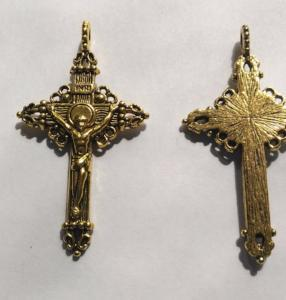 Crucifix Cross (4 Pieces) Gold Color