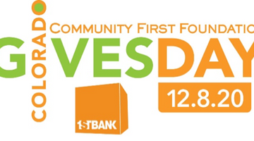 December 8th is approaching...which means it's time to get ready for Colorado Gives Day!