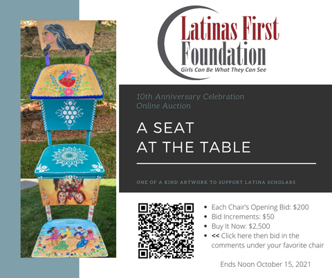 Seat at the table chair auction