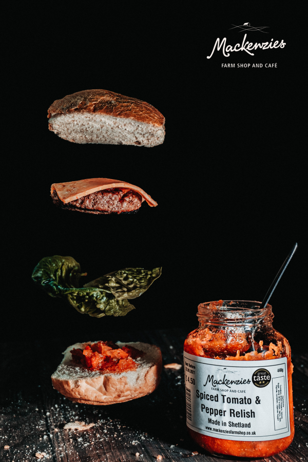 Mackenzie's Spiced Tomato & Pepper Relish