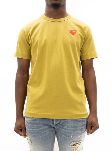 COMME des GARÇONS PLAY | Play Color Series T-Shirt Red Heart (Gold)