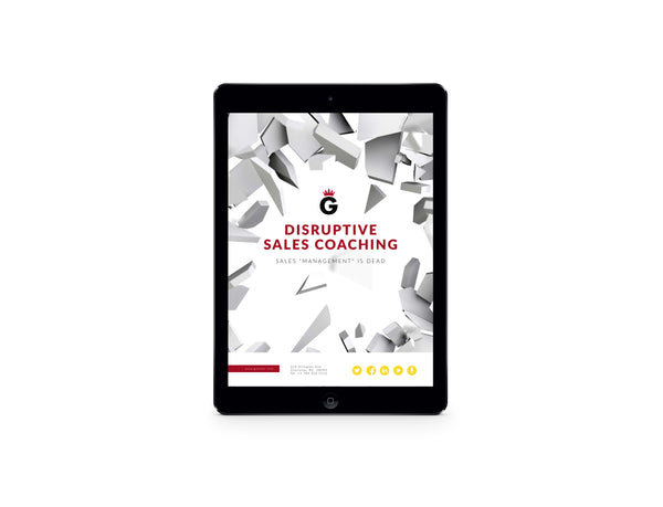 eBook: Disruptive Sales Coaching