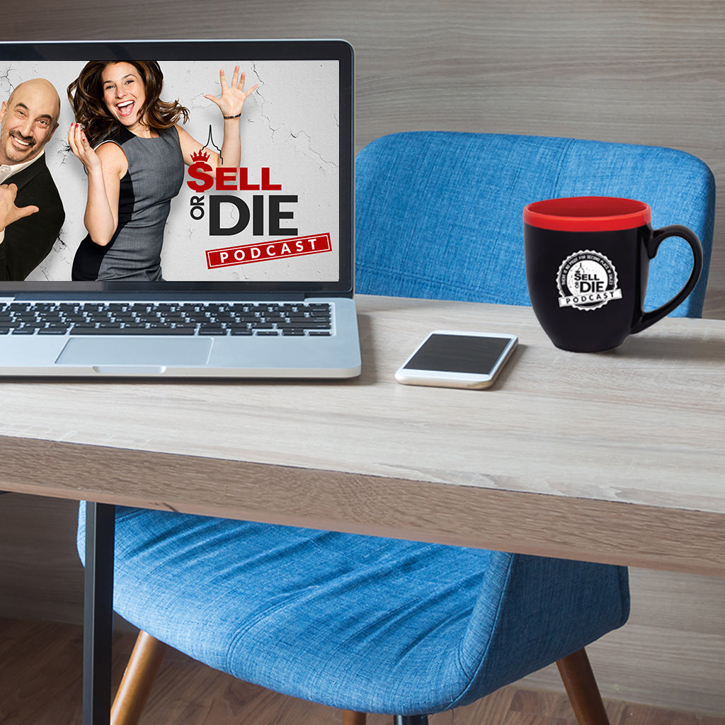 *NEW* SELL OR DIE PODCAST MUG