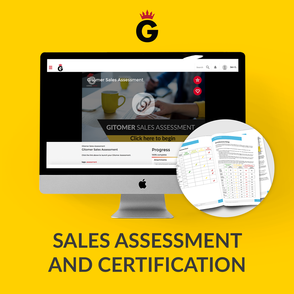 Sales Assessment and Certification Limited Time Offer