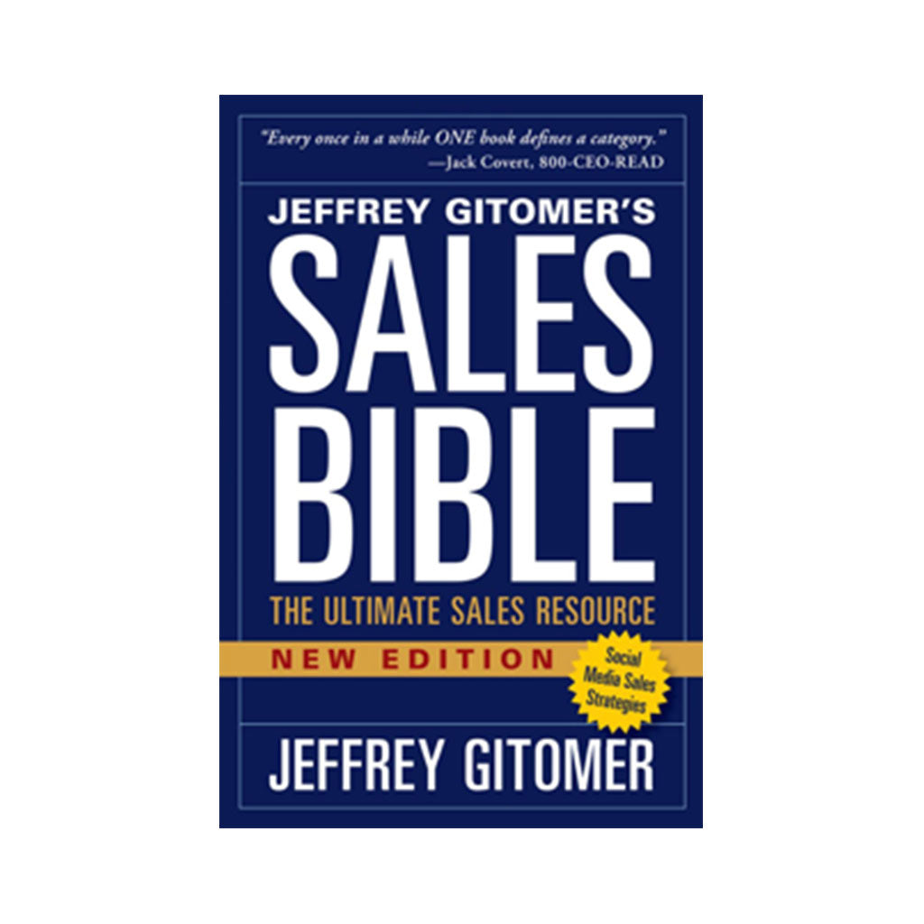 The Sales Bible New Edition with Social Media Sales Strategies - AUTOGRAPHED