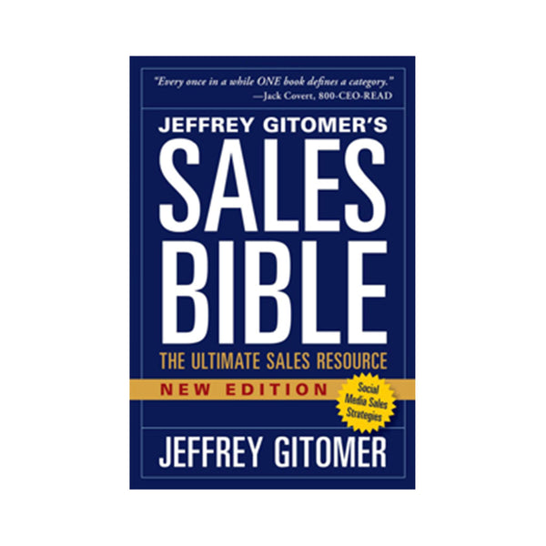 The Sales Bible New Edition with Social Media Sales Strategies (Autographed)