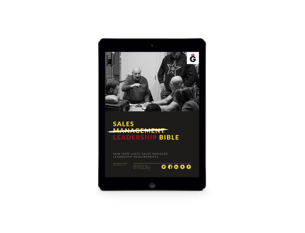 eBook: Sales Leadership Bible