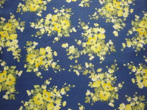 "Victoria's Terrace ""Yellow Bouquets""-Choice Fabrics-BTY"
