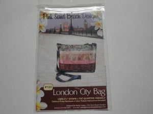 London City Bag Pattern by Pink Sand Beach Designs