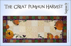 The Great Pumpkin Harvest Quilt Pattern by Saginaw St. Quilts