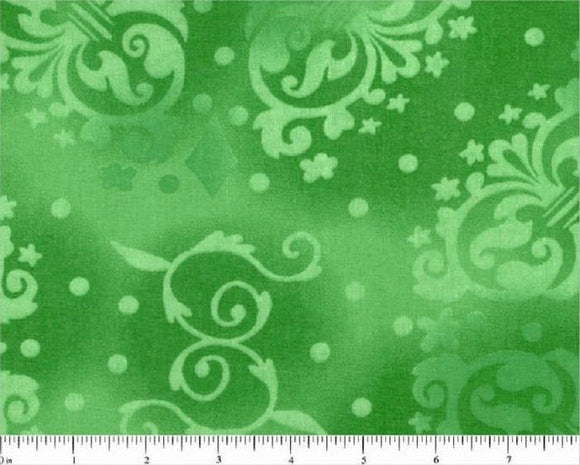 Green Tonal Novelty Design-108