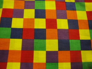 Bright Checkered Design-General Fabrics-BTY