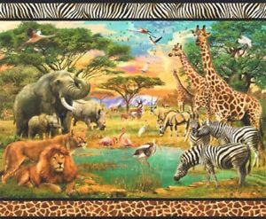 "Picture This ""Wild"" Digital Panel by Robert Kaufman"