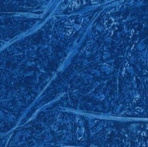 "Tonal Branches ""Royal Blue""-Choice Fabrics-BTY"