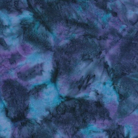 Aquamarine Blender-Batik Textiles-Fat Quarter