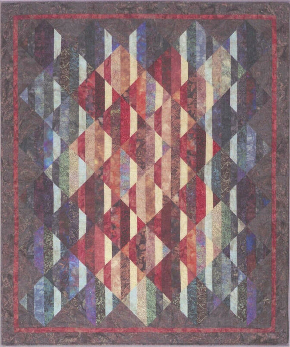Transition Quilt Pattern by Cozy Quilt Designs