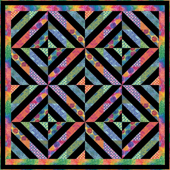 Pick Up Sticks Quilt Pattern by The Whimsical Workshop