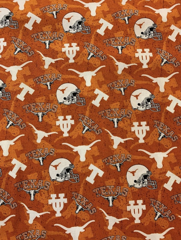 UT Longhorns Tone on Tone-Sykel Enterprises-Fat Quarter