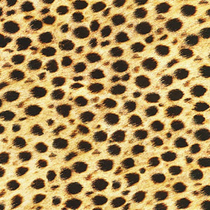 "Animal Kingdom ""Wild Leopard Spots""-Robert Kaufman-Fat Quarter"
