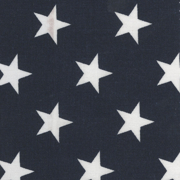 White Stars on Navy B/G-108