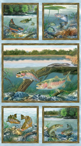 First Catch Panel by Wilmington Prints