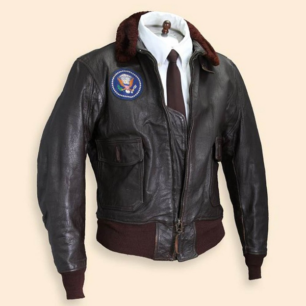 John F. Kennedy's Air Force One bomber jacket