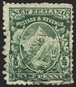 New Zealand Mount Cook stamp