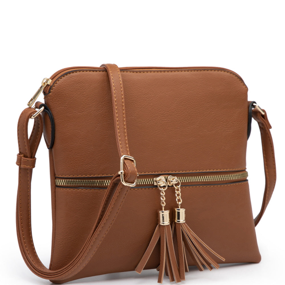 Tassel Accent Cross Body