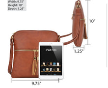Load image into Gallery viewer, Tassel Accent Cross Body