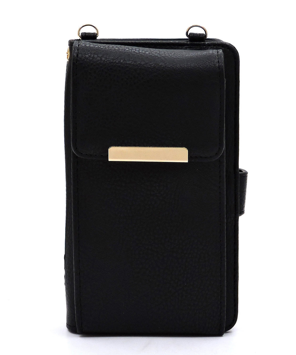 Bifold Crossbody Cell Phone Wallet