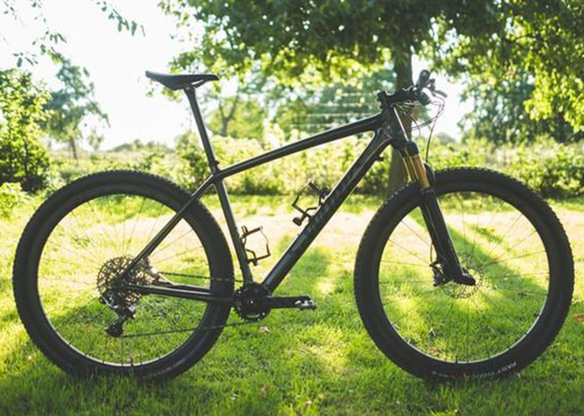 How to practise your mountain bike skills in your back garden.