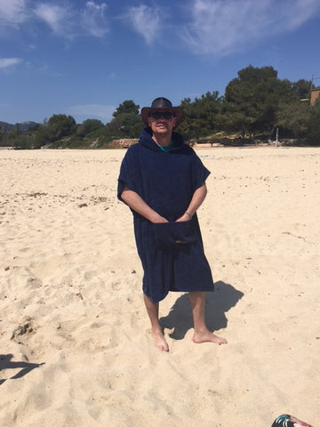 beach changing towel