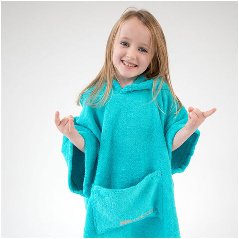 Booikids Changing Towel Robe - Aqua
