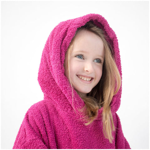 Booikids Changing Towel Robe - Pink