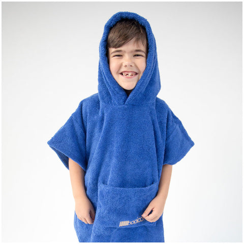 Booikids Changing Towel Robe - Royal