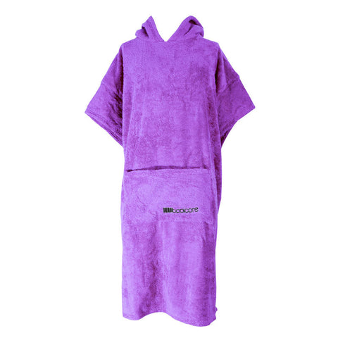 The booicore Outdoor Changing Towel Robe - Violet