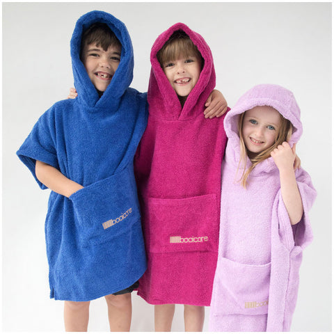 Booikids Changing Towel Robe - Lilac